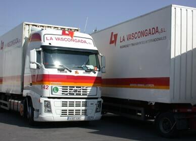 Camiones de transporte La Vascongada