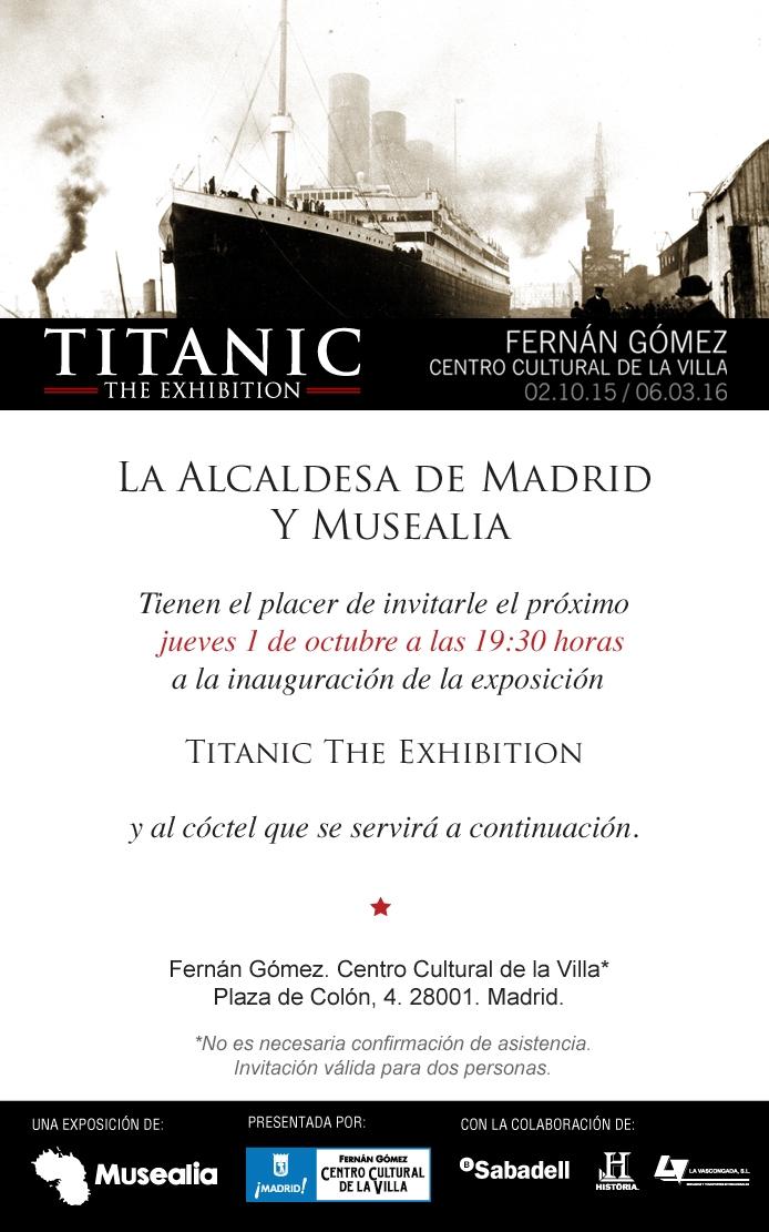 La Vascongada reflota el Titanic