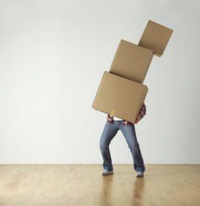 cajas cartón almacenaje